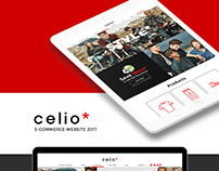 Celio E-commerce Website