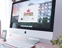 Branding & Identity Design: Ganja Designs