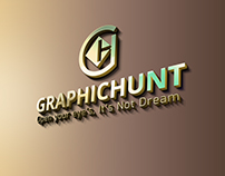 Graphic Hunt Logo. Creative and Professional