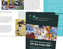 BMT Designers & Planners Off the Field Trifold Brochure