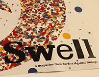 Swell Magazine- A design for Surfers Against Sewage