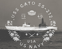 US Navy Theme Vintage Badges