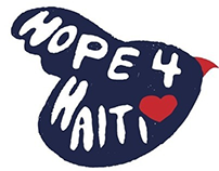 Hope for Haiti (Type Illustration)