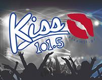 KISS fm Mytilini - Logo