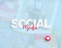 Social media 2019 - 2020