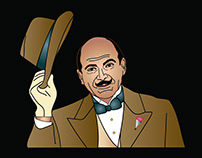 Hercules Poirot, Depicted
