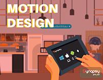 Motion Design pour un salon | Shark Graphik