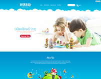 Bibo - Baby & Kids Ecommerce Templates
