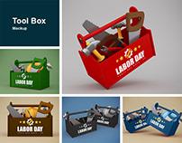 Tool Box Mockup