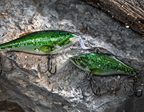 Fishing Lure Product Photography