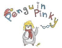 Penguin Pinky. Character design