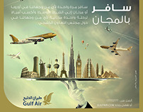 Gulf Air Advertisement