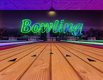 Bowling alley in 3D