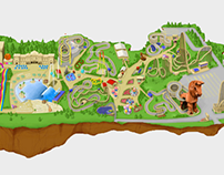 """Mt Olympus Water&Theme Park"" interactive map"