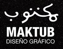 MAKTUB::DiseñoGráfico&Ideas///selfpromo