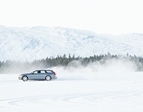 Volvo V90 / Dinner in the deep freeze