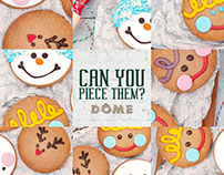Dome Cafe SG- Christmas 2016 online campaign