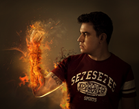 Fusão de Imagens - Fusion on Fire