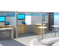 NAFSA trade show booth