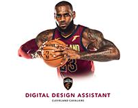 JOB OPENING: Cavaliers Digital Design Assistant