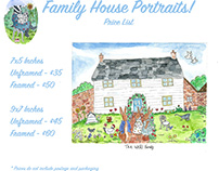 Family and Home portraits