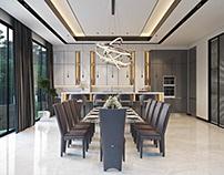 3D Interior Visualization For A Kitchen Studio