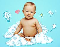 Seu bebê respira feliz