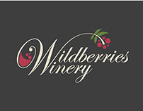 Wildberries Winery Logo and Label Design