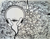 Philips Headphones - Pure Music