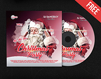 Christmas Party – Free CD Cover PSD Template