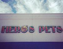 Hero's Pets Branding