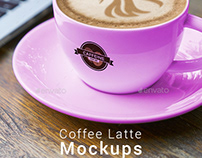 Coffee Latte Mockups
