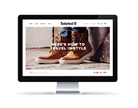 Timberland E-commerce Website