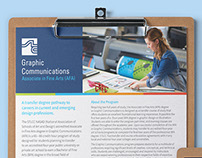 Graphic Communications Program Information Sheet