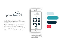 your friend App Design