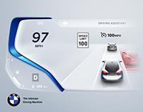 BMW i8 Concept Cluster