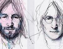 studying Lennon