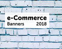 E Commerce banners 2018