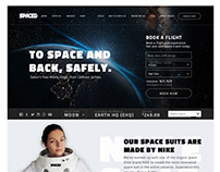 SPACED UI/UX and Branding