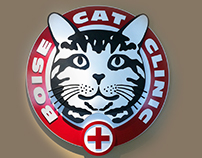 Boise Cat Clinic Identity
