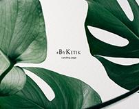 Landing Page for ByKetik