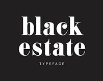 Black Estate | Typeface