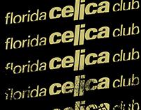 Florida Celica Club mini brand campaign