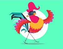 Rooster Walking Cycle_Training