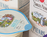 Saules Milk Packaging