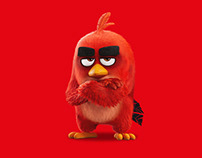Angry Birds - trading cards board game & stickers
