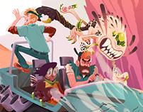 Swarm & Squad: Whack-A-Mutant-Mole