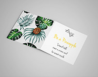 Info Card for Pineapple Necklace