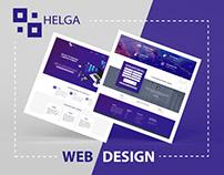HELGA | WEB DESIGN •