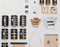 honey identity and packaging